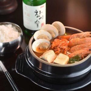 泡菜豆腐海鮮湯